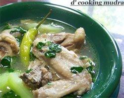 how to cook tinolang manok tagalog version