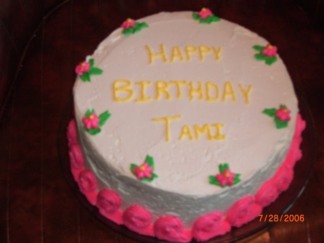 Happy Birthday Tami Cake