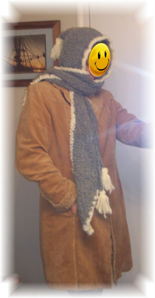 Free Hooded Scarf Patterns To Knit And Crochet Picture