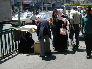 Street Scene in Downtown Amman