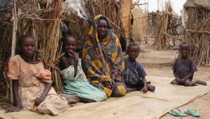 Darfur Family