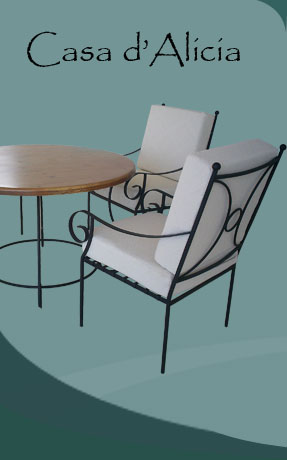 Homefront Introduces Casa Du0027Alicia Designs Of Wrought Iron Furniture With  Its Unique And High Quality Craftsmen Work. We Offer A Wide Range Of  Ferforge, ...