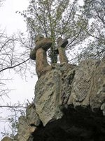 stone crosses