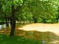 jordan park under water
