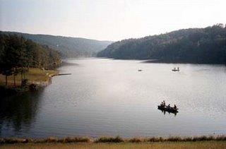 Lake Laura in Basye