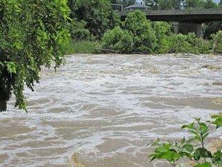 floodwaters at lexington