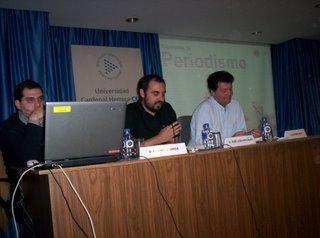 Carmelo Jordá, José Luis González y Alfonso Rojo