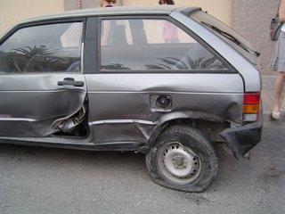 El Seat Ibiza después de su muerte