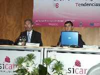 José Mª Esteban durante su ponencia en SICARM