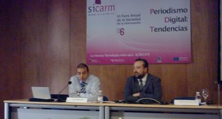 Juan Manuel Zafra durante su ponencia