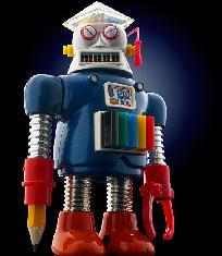 Japanese robot toys
