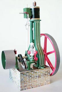 Paper Steam Engine