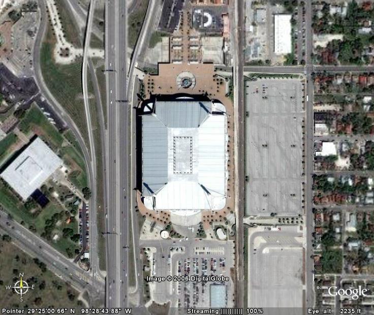 From The Gonzo Football Stadiums Via Google Earth