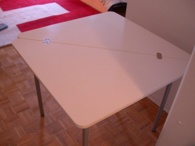 My furniture ikea lokka folding table for Folding low table ikea