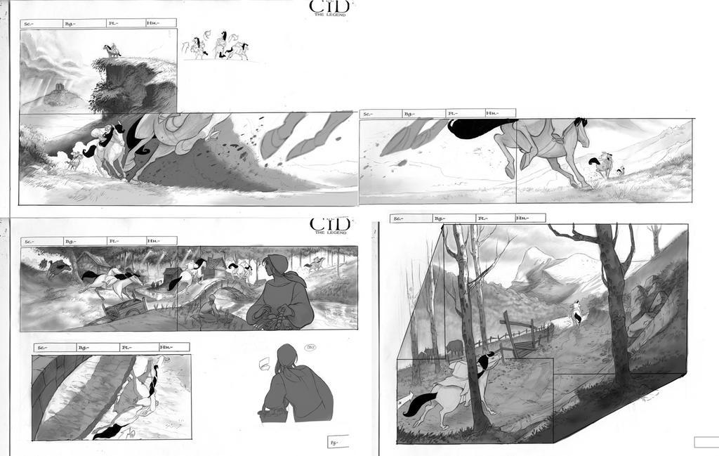 El Cid-Storyboard Enrique Fernández
