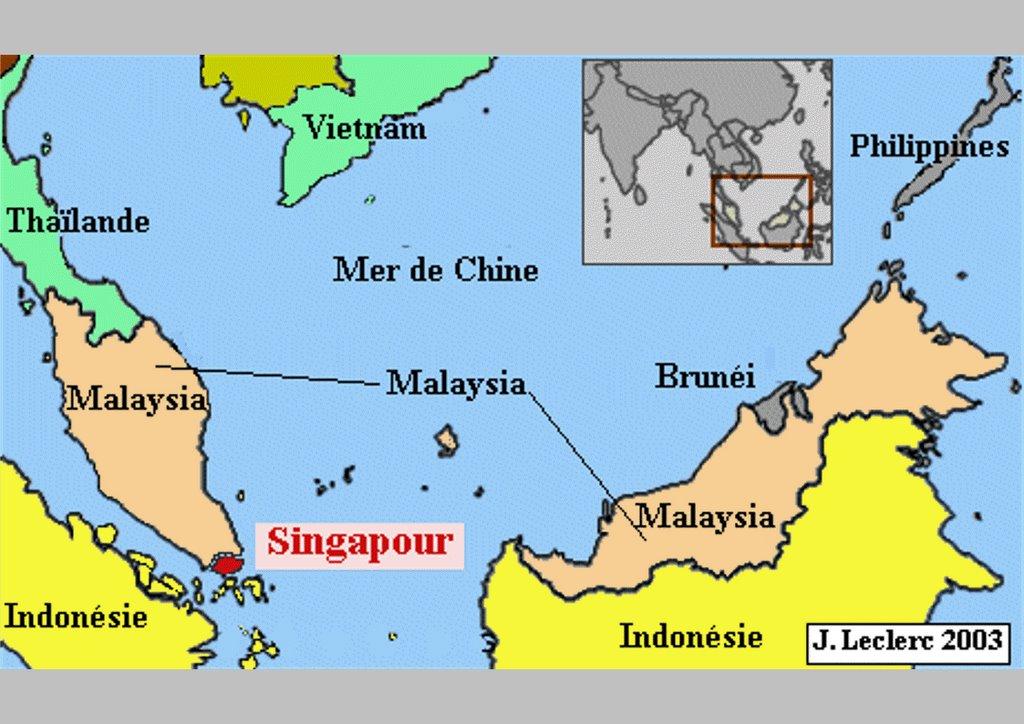 Clio malo les p les de croissance en asie de l 39 est for Dans quel pays se trouve singapour