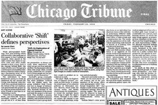 Portada del Chicago Tribune