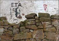 Pared con grabado de ETA