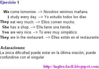 Curso de Inglés - Aprende Inglés: Lección 1: Los pronombres ...