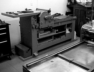 flatbed press