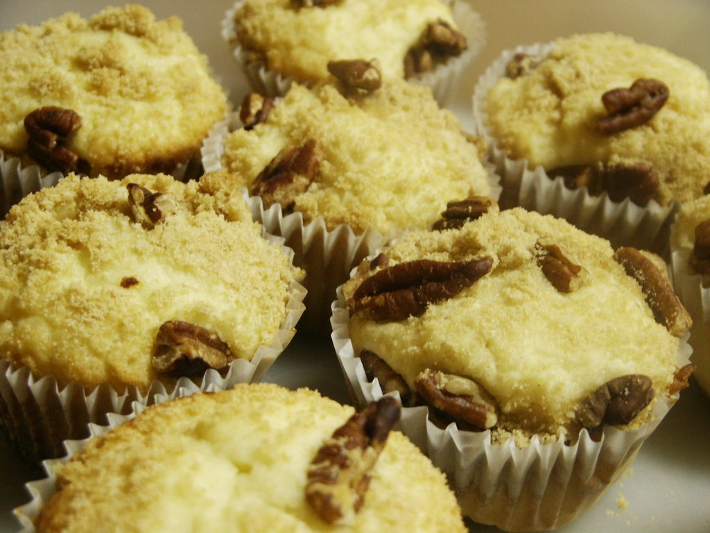 The Homeplace: Lemon Pound Cake Muffins