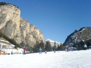 Beautiful sun in the Dolomites... YES!