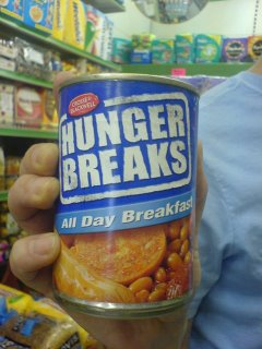 Hunger Breaks... Slop for humans.