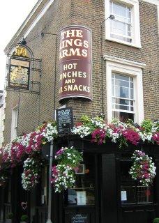 King's Arms Pub, Windmill Walk, London
