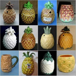 We may look different but we are all ugly ceramic pineapples!