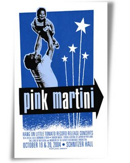 Pink Martini Poster