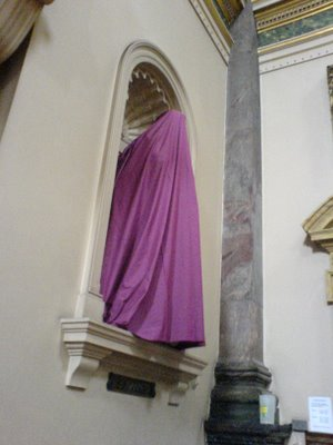 Shrouded for Holy Week