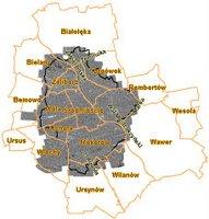 Ortofotmapa: Warszawa 1945