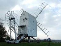 Great Chisell post mill