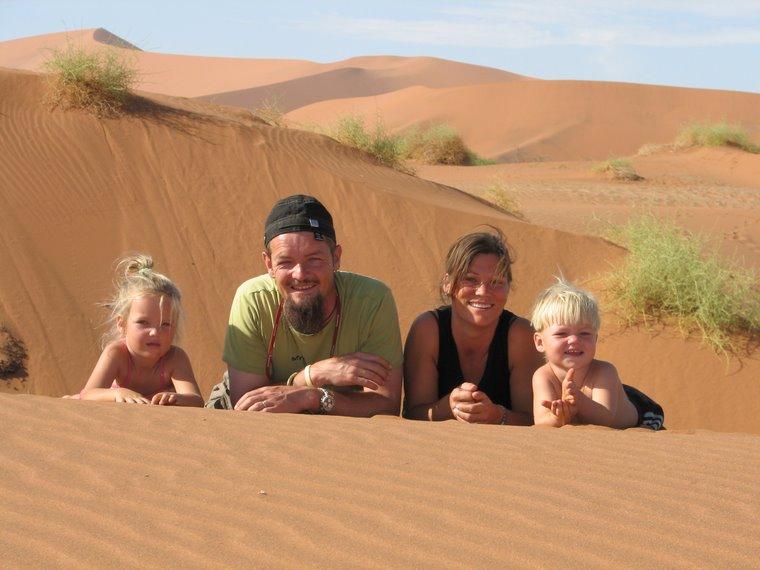 I Namibia ørkenen
