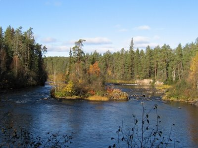 Oulankajoki, Small Falls