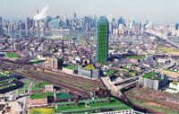 Long Island City in Queens is a candidate to become a veritable neighborhood of green roofs.