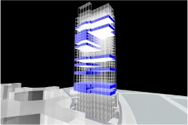 Core Bim Modeling: Spatial Studies for Office Restack Operations