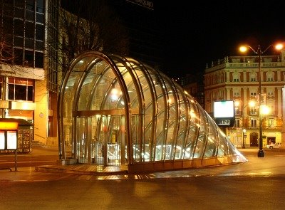 Estación de metro de bilbao