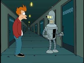 piso de Bender es el 00100100