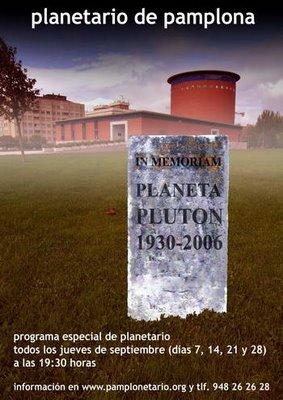 obituario de Plutón