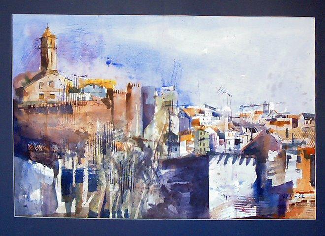 "Mención de Honor en el XXXII Concurso Internacional de Pintura ""Rafael Zabaleta"" en Quesada"