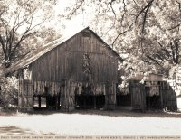 Burley tobacco barn