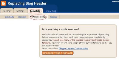 Reverting from Blogger classic template to beta template