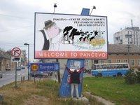 Istina o Pančevu na billboardu
