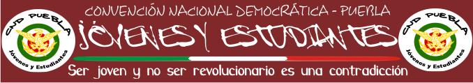 CND-Puebla, Jóvenes y Estudiantes