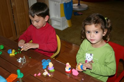 Playdoh friends