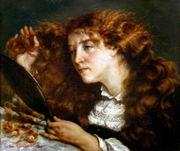 Retrato de Jo, la bella irlandesa - Courbet
