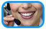 sonrisa telefónica