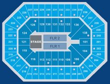 CONCERT SEATING CHART