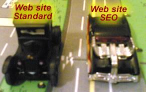 differenza tra sito web standard e sito web seo ottmizzato per i motori di ricerca